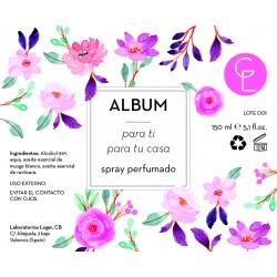 ALBUM perfume para ti para tu casa