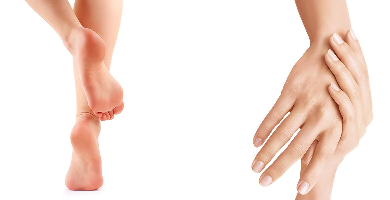 Suavidad para tus manos y pies